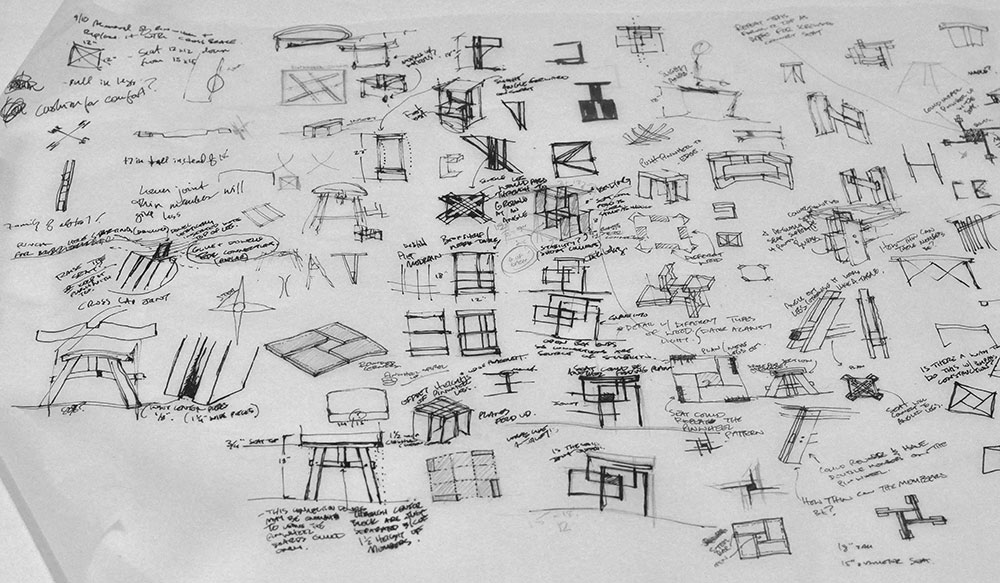 Stool-Design-Process-Sketches